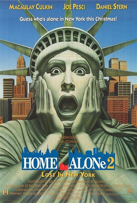 Home Alone 2: Lost in New York Movie Poster (#4 of 4