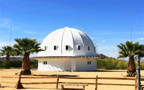 There is a dome in the Mojave desert meant for cell
